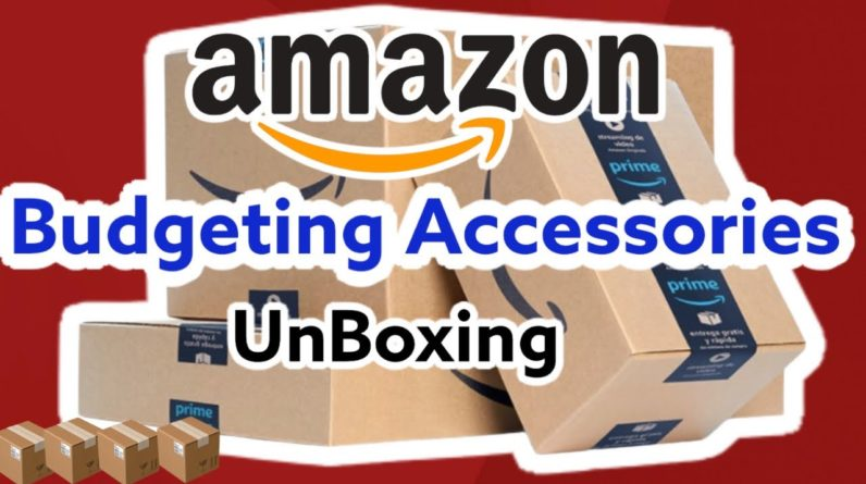 AMAZON PRIME UNBOXING    THE BEST BUDGETING ACCESSORIES