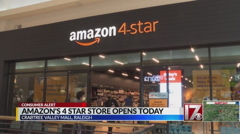 Amazon's first physical store in North Carolina opens in Raleigh