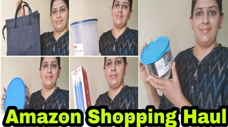 ?️Amazon Shopping Haul Video With Price & Link In Description Box