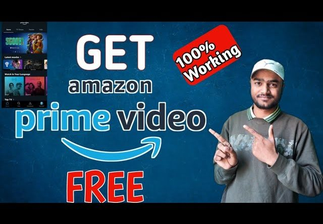 How to get Amazon Prime Free For 30 Days Trial. | Amazon Prime Video | #Sundaytrick