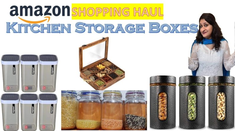 Shopping For My Kitchen ~Variety of Storage Containers   Amazon Shopping Haul