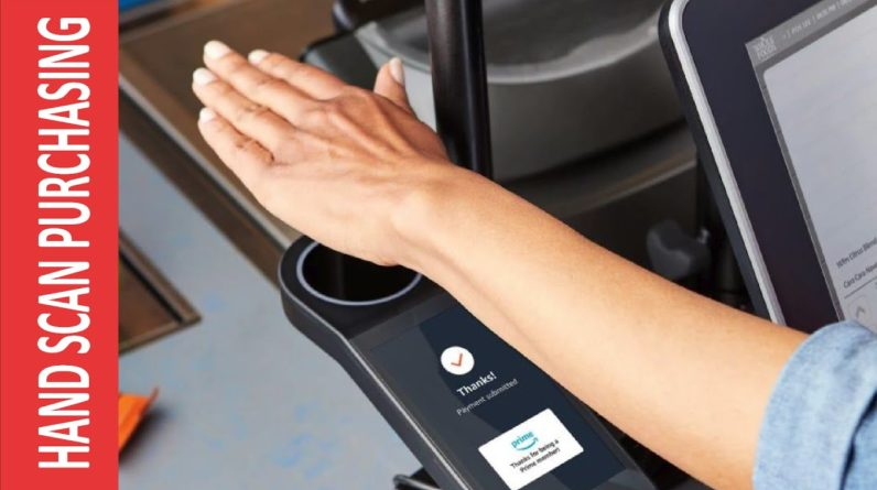 Hand Scan - Amazon to let Whole Foods shoppers pay with a swipe of their palm