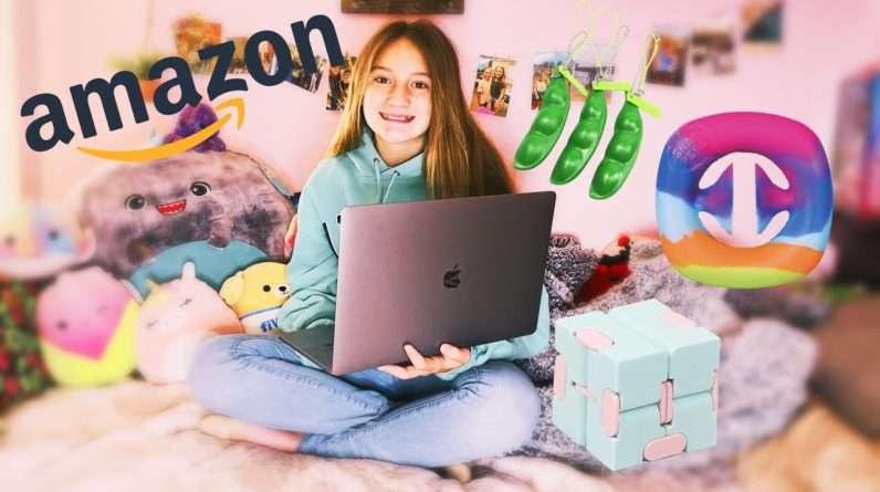 SHOPPING AMAZON for FIDGETS and SQUISHMALLOWS
