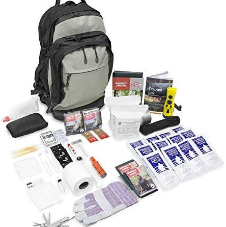 Urban Survival Bugout Bag 2 Person/Go Bag for Earthquakes Hurricanes and Other Disasters