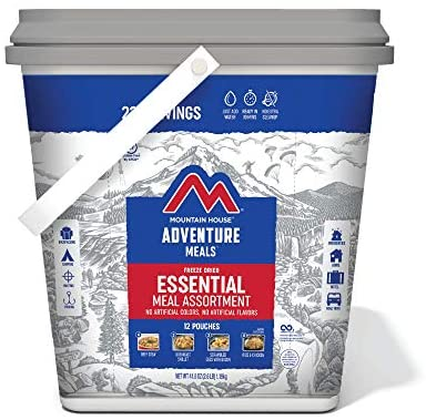 Essential Bucket | Freeze Dried Backpacking & Camping Food